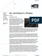 An Architect's Dhaka by Mahbubur Rahman