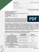 Acreditacion de Aguas 2011