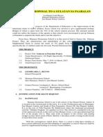 A Gulayan Sa Paaralan Project Proposal