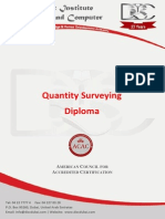 Quantity Surveying Course Outline