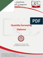 Quantity Surveying Course Outline
