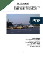 A Case Study Passenger Ergonomics in Public Buses in Kolkata..