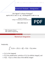 Numerical Integration