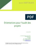1205.Project Audit Guidelines FR Nov 2003
