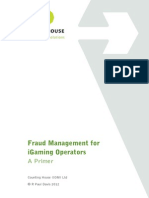 Fraud Management for Igaming Operators
