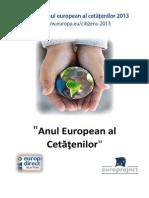 Anul European Al Cetatenilor
