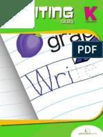 Kindergarten Writing Skills Workbook