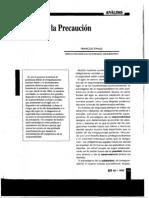Francois Ewald - Filosofia de la precaucion  (Gerencia de riesgos N° 58, 2° trimestre). pdf.pdf