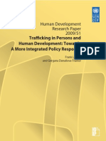 """Trafficking in Persons and Human Development"