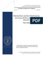 """PREVENTING HUMAN TRAFFICKING"