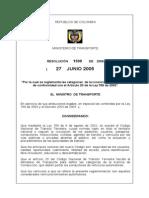 Resolución 1500 - Definición Licencias