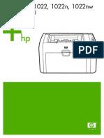 Manual Hp 1022
