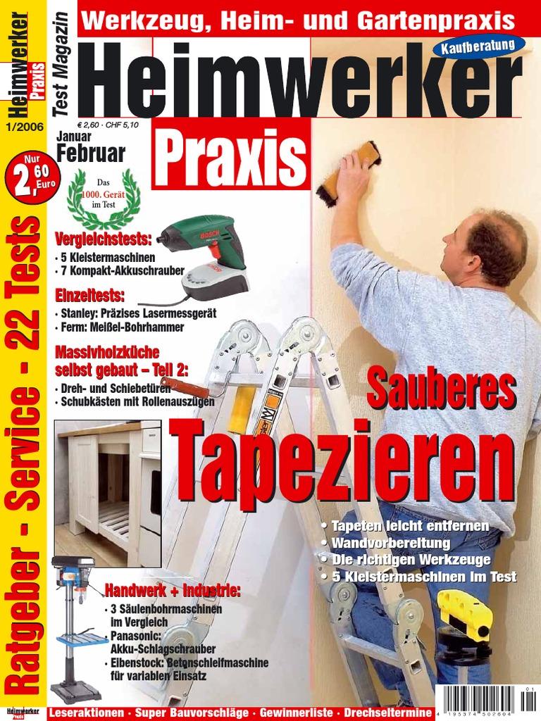 Heimwerker Praxis - Jahresarchiv 2006