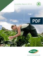 Ardo CSR Report 2012