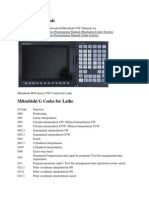 Mitsubishi Manuals