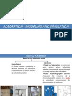 Adsorption Modelling