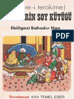 776-Shecerei Terakime -Turklerin-Soykutughu (Ebulqazi Bahadirxan) (Muherrem Ergin)