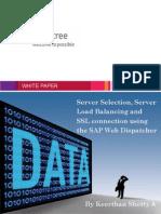 Whitepaper on Webdispatcher