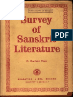 Survey of Sanskrit Literature - C. Kunhan Raja
