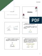 Química II - Aldeídos - 2010 - 2