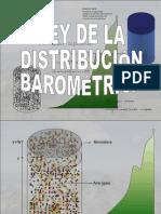 Ley de Distribucion Barométrica