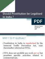 Legalisation of Prostitution