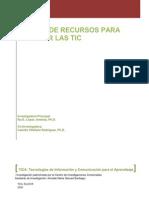 Manual de Recursos Para Integrar Las TIC