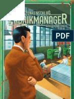 Fabrik manager règles Fr