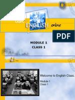 M1 U1 CLASS 1