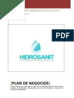 Nuevo Plan de Negocios Hidrosanit