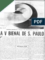 A V Bienal de S. Paulo