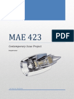 MAE 423 Prject Report