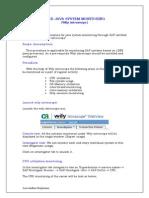 Monitoring SAP Using Wily