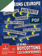 Tract Changeons Europe