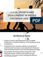 Differences Between Social in Growth and Development