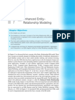 Chapter 12 - Enhanced Entity Relationship Modeling