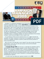 Campaign Manager 2008 - Rulebook