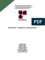 Estructura y Desiño Organizacional