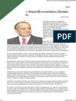 13-05-15 Transparencia y desarrollo económico, binomio del Estado eficaz