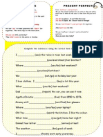 43852 Past Simple or Present Perfect