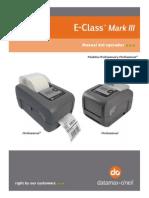 E4206 MIII Manual