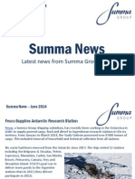 Summa Group News June 2014