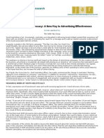 Advocacy a New Key to Advertising Effectiveness