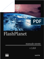 FlashPlanet-Manuale utente