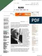 2014-01-11 - O Globo - Uma Entrevista Com Michel Foucault