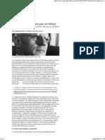 Artières; Potte-Bonneville - Michel Foucault n'Est Pas Un Trésor - Le Monde 2012-05-07