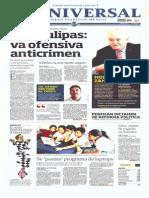 GCPRESS Portadas Medios Nacionales Mar 13 May 2014