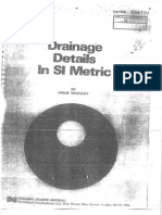Drainage Details in SI Metric by LESLIE WOOLLEY