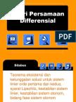 teori persamaan diferensial