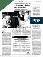 03. Juan Pablo II Propone a Francisco y Jacinta Marto Como Modelos de Santidad.
